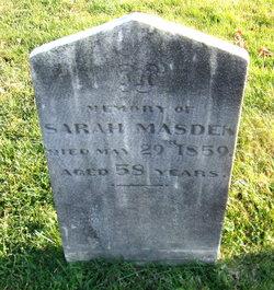 Sarah Masden