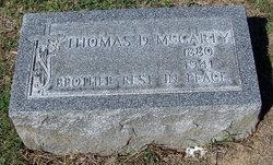 Thomas D McCarty