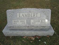 """Mary Jane """"Mayme"""" <I>Rankin</I> Lambert"""