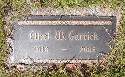 Ethel W Garrick