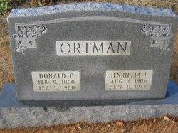Henrietta L Ortman