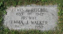 Emma J <I>Walker</I> Ritchie