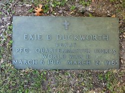 Exie B Duckworth