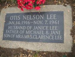 Otis Nelson Lee