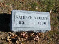 Kathryn D Coles
