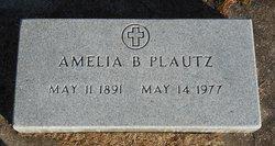 Amelia B Plautz