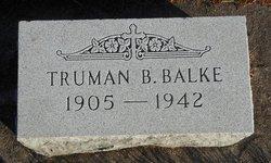Truman B Balke