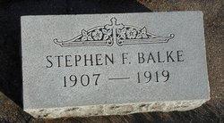 Stephen F Balke