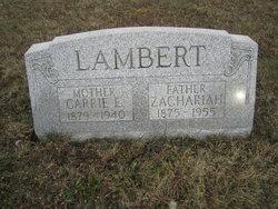 Zachariah H. Lambert
