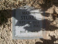 Maxine <I>Skinner</I> Stukel