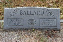 Thad Nural Ballard