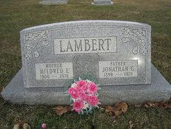 Mildred Emeline <I>Reed</I> Lambert