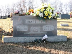Rosetta Mae <I>Crabtree</I> Bartley