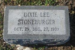 Dixie Lee Stoneburger