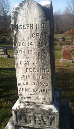 Lucy Jane <I>Perkins</I> Gray