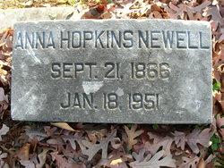 Rhoda Anna <I>Hopkins</I> Newell