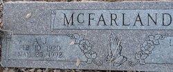 A. J. McFarland