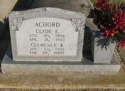 Clyde E. Achord