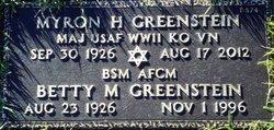 Betty M. Greenstein