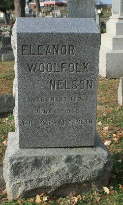 Eleanor <I>Woolfolk</I> Nelson