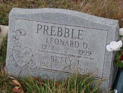 Betty June <I>Carll</I> Prebble