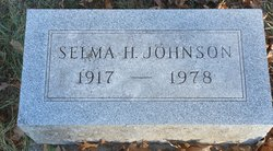 Selma H Johnson