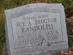 Sue A. <I>Proctor</I> Randolph