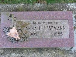 Anna D Lesemann