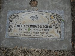 Maria <I>Trinidad</I> Negron