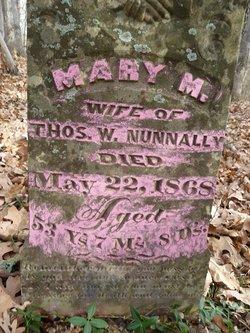 Mary M. <I>Loyd</I> Nunnally