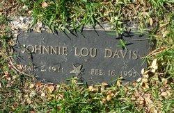 Johnnie Lou Davis
