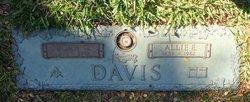 Allie Emma <I>Lollar</I> Davis