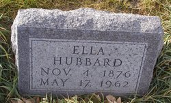 Ella <I>Vollmer</I> Hubbard