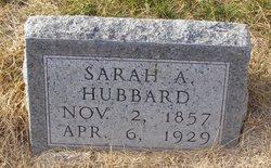 Sarah A Hubbard