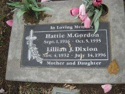 Hattie M. Gordon