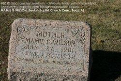 Mamie Gertrude <I>Stonicher</I> Wilson