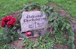 "Oleksandr ""Alexander"" Khachaturyan"