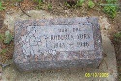 Roberta Lynn York
