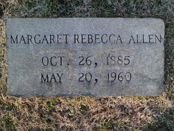 Margaret Rebecca Allen