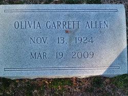 Olivia <I>Garrett</I> Allen