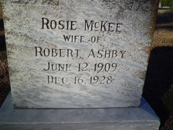 Rosie <I>McKee</I> Ashby