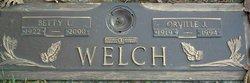 Orville J Welch