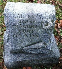Callen William Burt