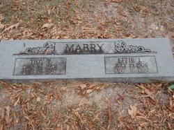 Effie Lorene <I>Rosson</I> Mabry