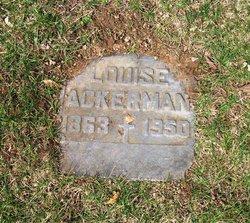 Louise Ackerman