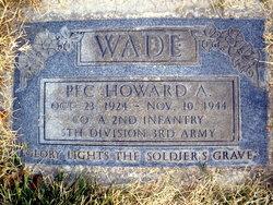 Howard A Wade