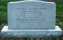 Gen Francis Horton Pope