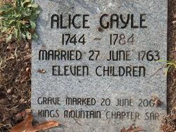 Alice Mary <I>Gale</I> Amis