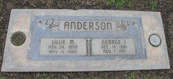 Lillie Mae <I>Creekmore</I> Anderson