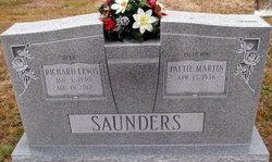 """Richard Lewis """"Dickie"""" Saunders"""